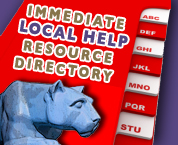graphic for Immediate Help Resources which links to the Resource Directory page